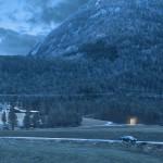 Portal ved Moskog (Natt). Illustrasjon: Sunnfjord Energi / Multiconsult / Xform