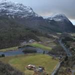Inntaksområdet ved Tognahølen. Illustrasjon: Sunnfjord Energi / Multiconsult